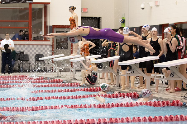 01-31-2019 Swimming Girls Sectional