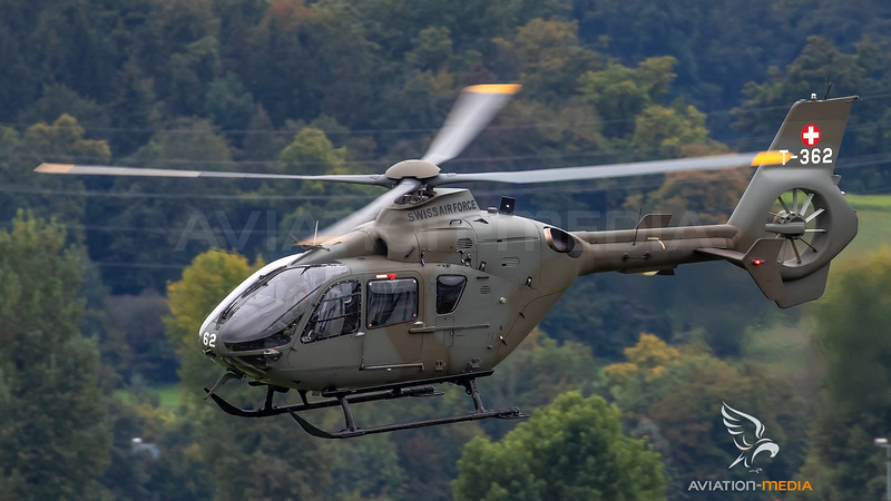 Swiss Air Force Eurocopter EC-635P2 T-362