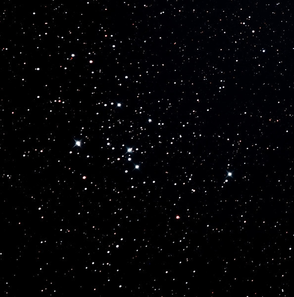 Messier M47 Open Cluster - 28/12/2011 (Re-processed cropped stack)   Reprocessed in early 2013.  Revisiting this well used pair of objects with the borrowed PowerNewt   DeepSkyStacker 3.3.2 Stacked 80% of 28 Images ISO 800 60 Sec, 32 DARK, 0 BIAS, 0 FLATS, Post-processed by Photoshop CS5   Telescope - Jean Mari'e Locci's PowerNewt 200mm f/2.8 with Coma Corrector, Astronomik CLS-CCD EOS Clip filter, Canon 400D DSLR, Ambient 26C. Mount - Skywatcher NEQ6 Pro. Guidescope - Orion ShortTube 80 with Star Shoot Auto Guider.