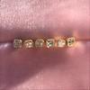 .78-.82ctw Asscher Stud Earrings, in Yellow Gold 13