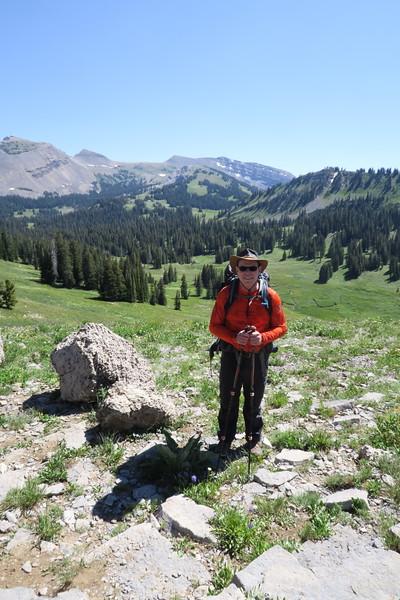 Jim pauses above Granite Canyon