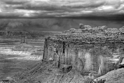 Landscapes - Desert - BW