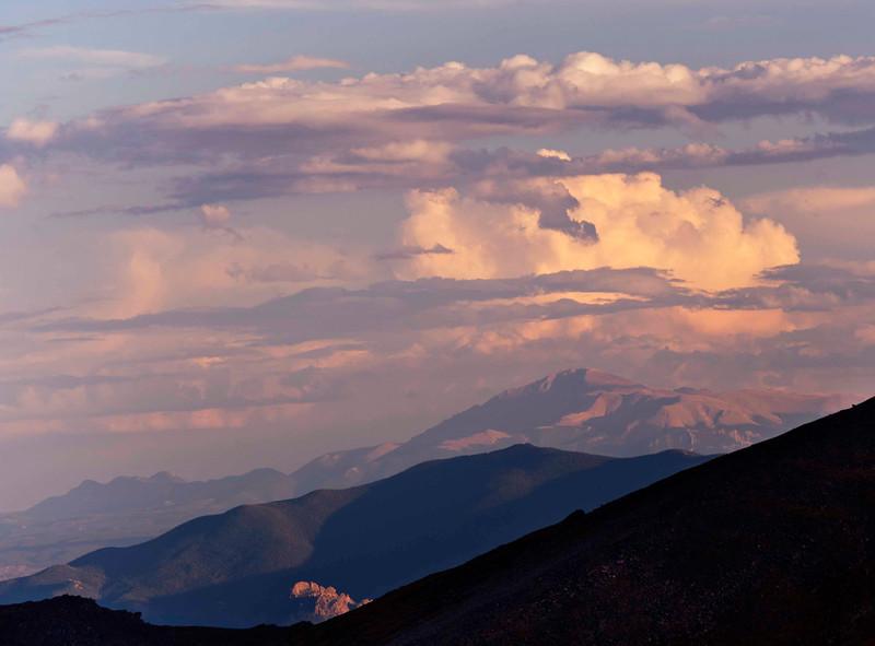 Longing Long's Peak from Mount Evans, CO