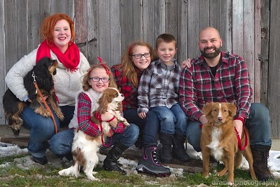 The Bischof Family Christmas Session 2014