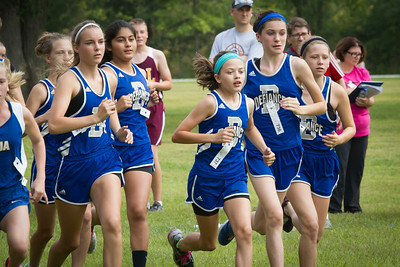 Defiance Middle School Cross Country 08-29-2015