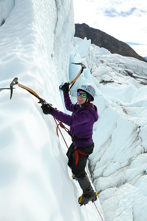 Ice Climbing with Chris