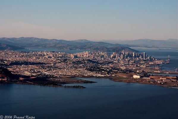 Aerial Views of SFO