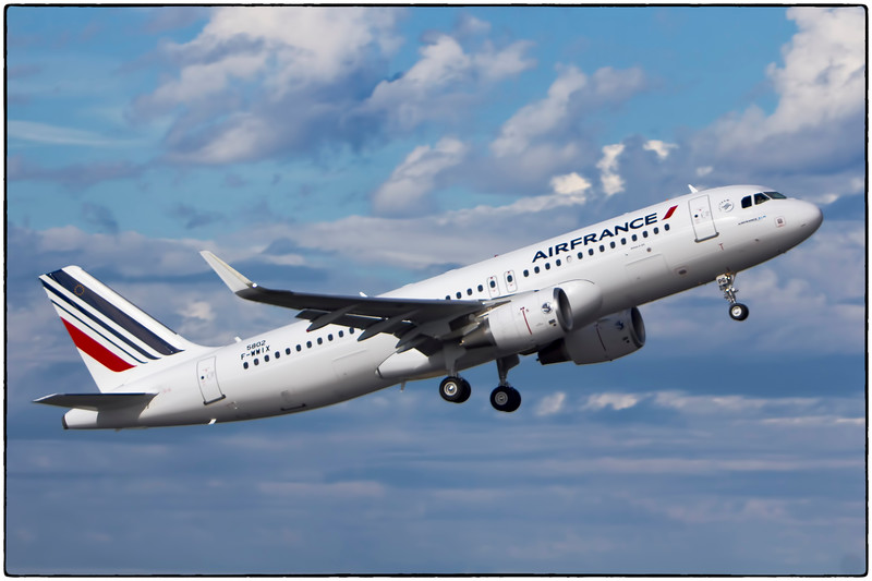 Brand New Air France A320 Test Flight, Toulouse