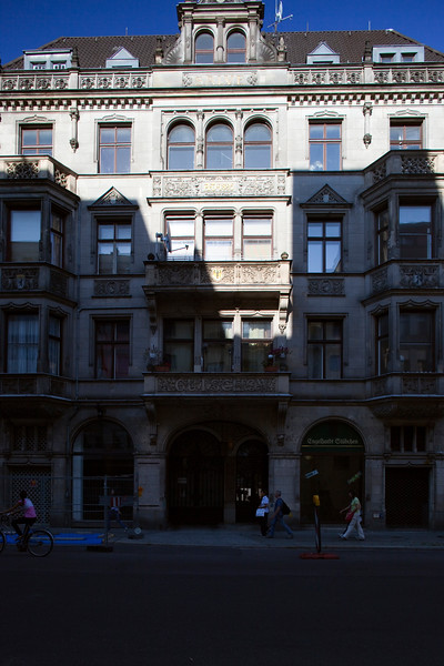 Late 19th century building, Friedrichstrasse, Berlin, Germany