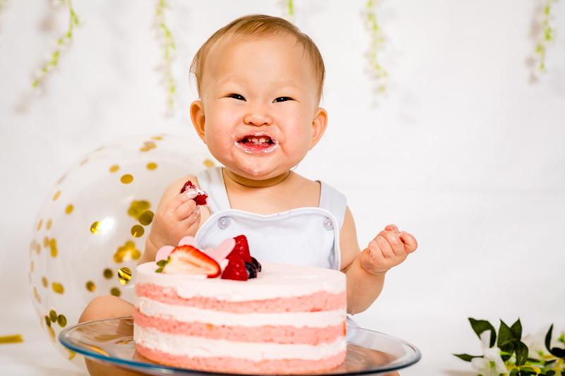 Enji 1st Birthday