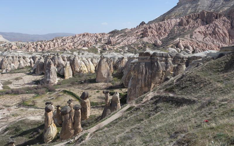 cappadocië, cavusin