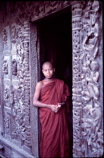 Shwe Nan Daw Kyaung Monastery in Mandalay