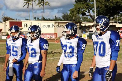 """09-23-11 Moanalua JV """"vs"""" Kahuku HS (20-22)"""