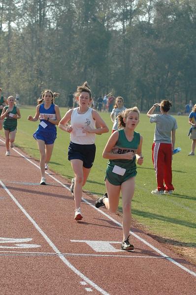 3:02 at 800m Lindsey Sanders (2nd), Maclay