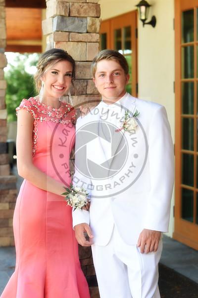 Jenna and Colt Prom 2016