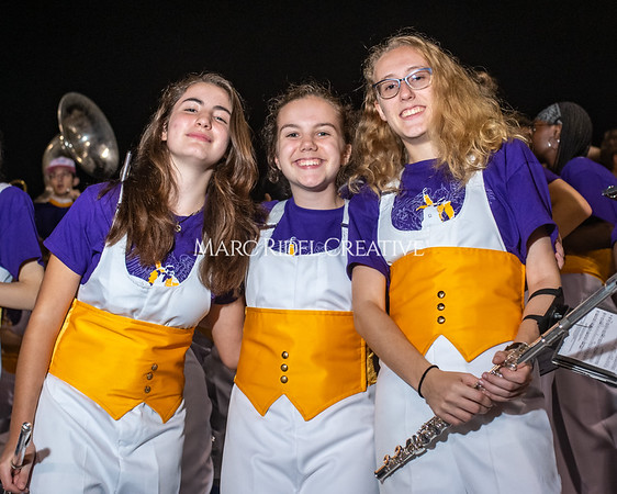 Broughton varsity football vs Cardinal Gibbons. Band and Dance Team Senior Night. October 25, 2019. MRC_3883