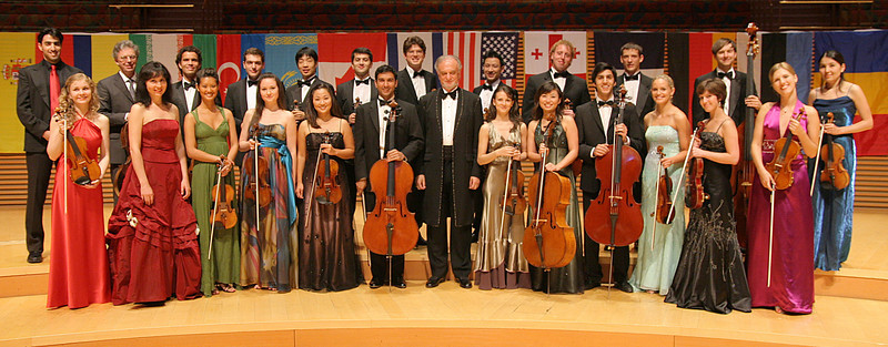 Orchestra Group shot