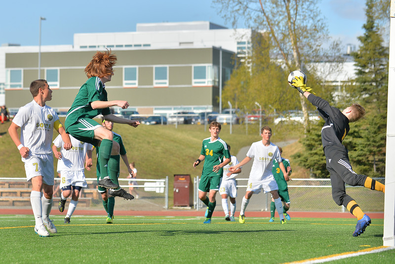 May 8, 2014: South High School vs. Service High School Boys Soccer