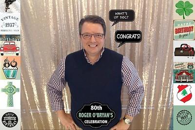2017 Roger O'Bryan's 80th Celebration