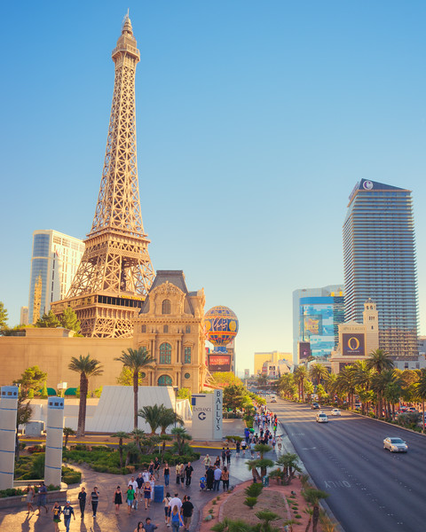 Eiffel Tower in the Desert