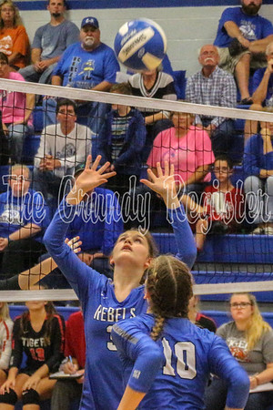 G-R volleyball vs. South Hardin (10/1/19)