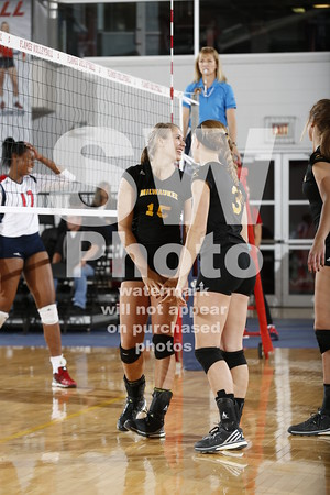 10.28.2016 - UWM Volleyball at UIC