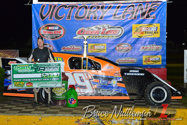 Cedar Lake Speedway, the Masters, June 13th, 2014