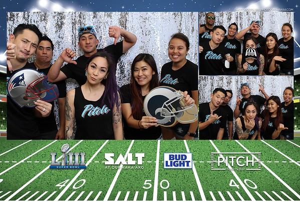 Pitch Sportsbar - SuperBowl 2019 (Photo Booth Photos)