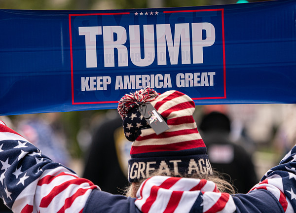 """""""March for Trump"""" in DC (October 17, 2019)"""