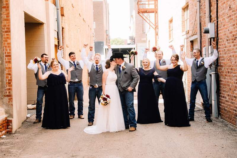 PORTRAITS // WEDDING PARTY // DOWNTOWN