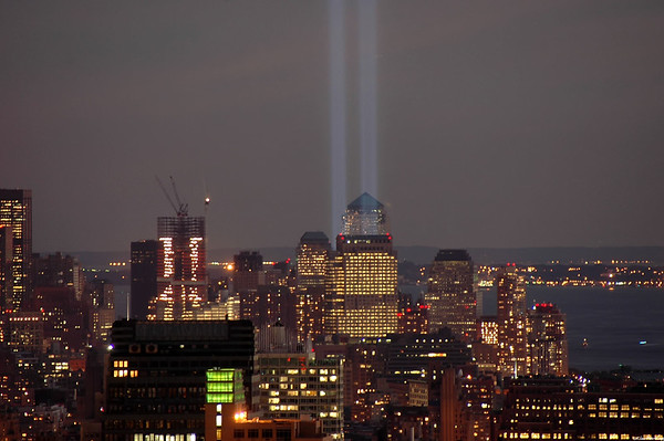 Tribute in Light - Remembering September 11, 2001