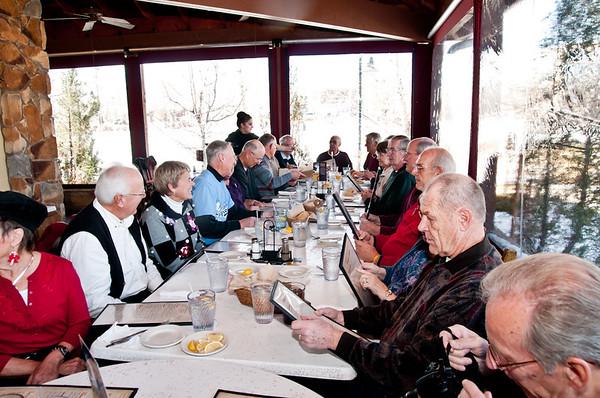 Colorado Cougars End of season banquet - December 14th 2011