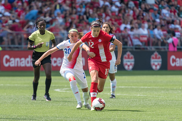 Canada vs Costa Rica - Women