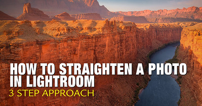 How to Straighten a Photo in Lightroom