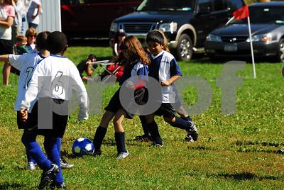 Team 3 Navy Blue vs Team 5 White - 9-20-08