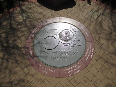 Walker City Memorial/Anniversary Garden