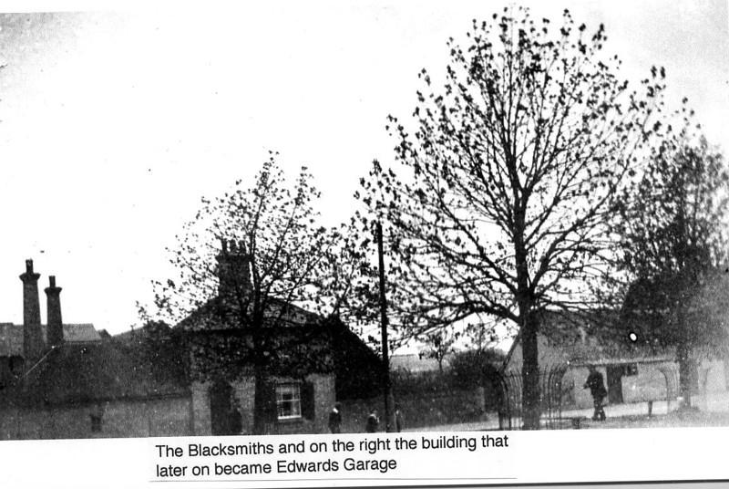 Blacksmiths and pre garage Provided by Elizabeth Smith