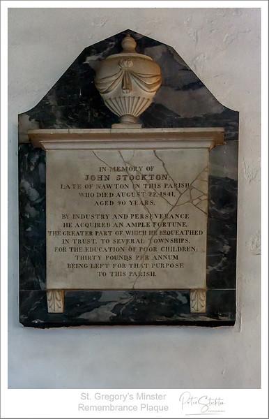 St. Gregory's Minster.