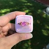 2.40ct Pink Sapphire Ring, by Rose Gold Ring by Beverly K 18