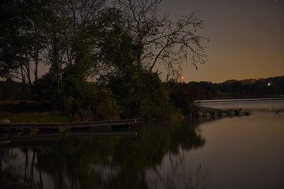 Marsh Creek Light Painting
