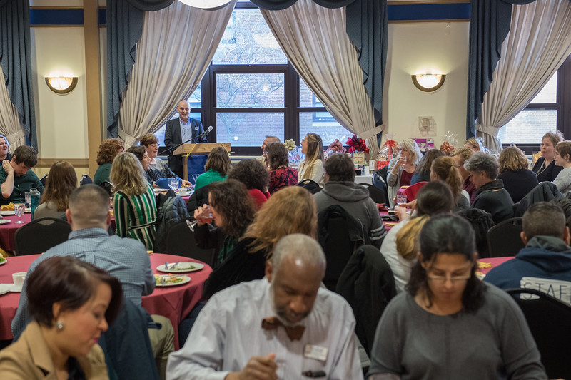 Westfield State University Holiday Luncheon, Dec 2018