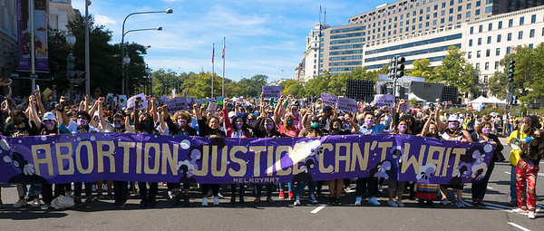 2 Oct 2021 Washington, D.C.:  Women's March for Reproductive Justice
