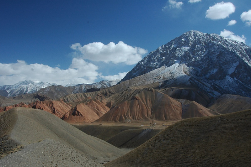 Kyrgyz Mountains and Hills - Osh to Sary Tash, Kyrgyzstan