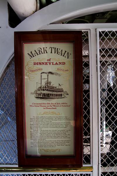 Mark Twain Dedication