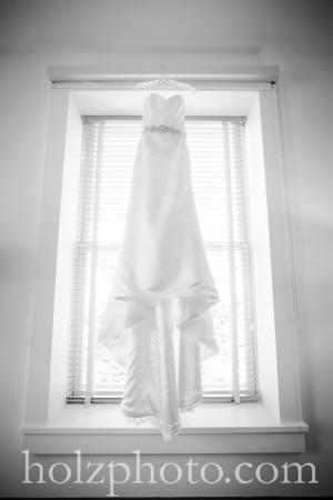 Stefanie & James B/W Wedding Photos