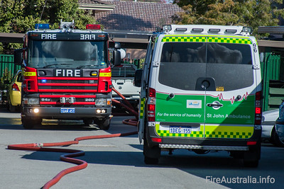 WA FRS Scania Medium Pumpers