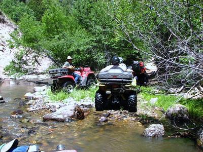 ATV trip Piute trail 8-09 w/Warren