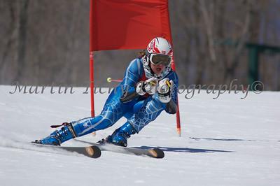 Lutsen, MN - GS 1st Run Women - March 25, 2011