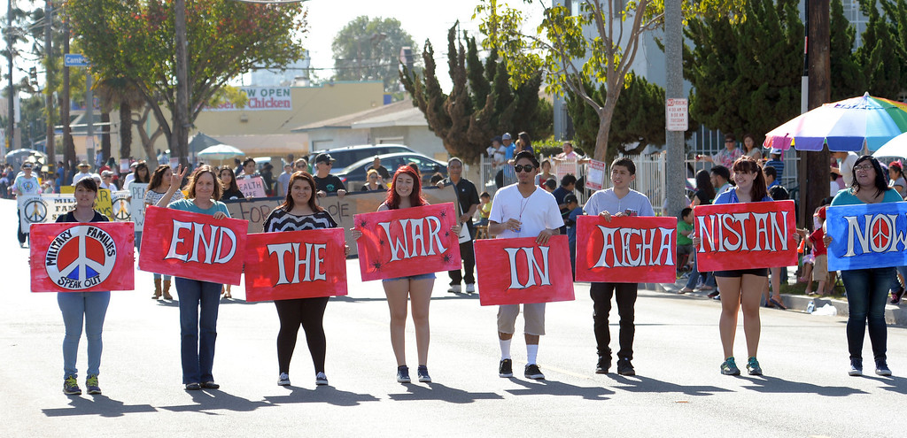 . The 26th Annual Martin Luther King, Jr., Peace & Unity Parade Saturday, January 18, 2014, Long Beach, CA.  Photo by Steve McCrank/Daily Breeze