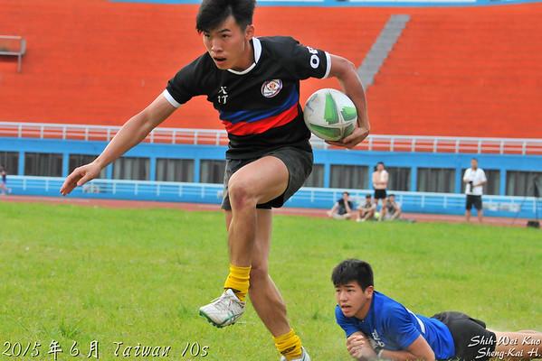 2015台灣國際10s-盃級冠亞軍賽-桃園大竹 VS 台北黑衫軍(Cup Final-Taoyuan Dachu VS Taipei Blacks)